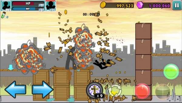 دانلود Anger of stick 5 : zombie 1.1.43 بازی زیبای خشم آدمک 5 اندروید + مود