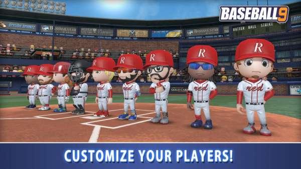 دانلود BASEBALL 9 1.6.1 بازی ورزشی بیسبال 9 اندروید + مود