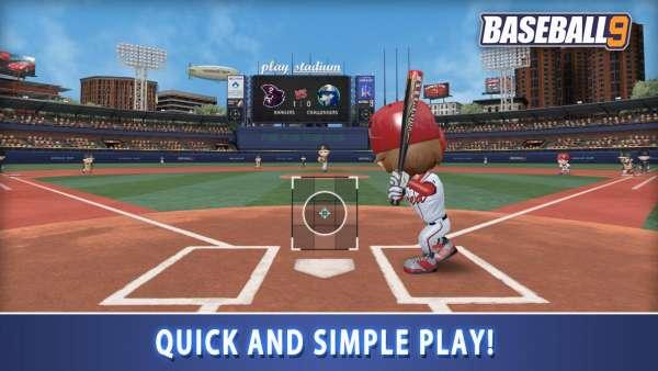 دانلود BASEBALL 9 1.6.5 بازی ورزشی بیسبال 9 اندروید + مود