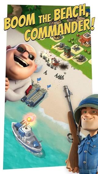 دانلود Boom Beach 44.193 بازی استراتژیک اندروید ساحل بوم