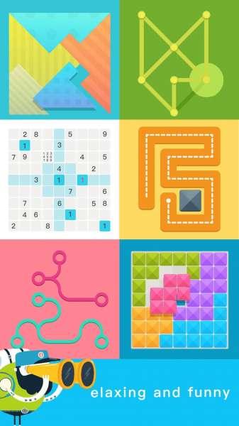 دانلود Brainzzz 3.2.5 بازی بسیاز زیبا و دوست داشتنی هوش اندروید + مود