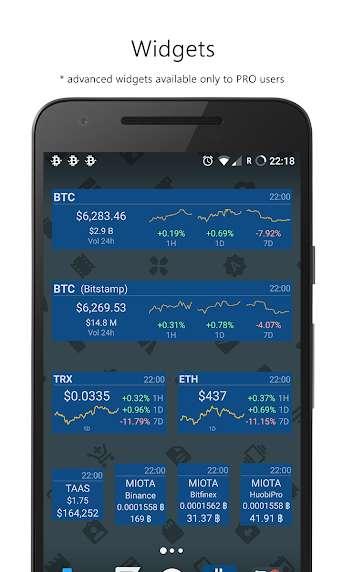 دانلود Crypto App – Widgets, Alerts, News, Bitcoin Prices Pro 2.6.2 برنامه اطلاع از اخبار بیت کوین