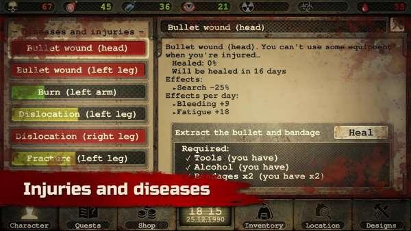 دانلود Day R Survival 1.674 بازی نقش آفرینی روز بقاء + همراه با نسخه رایگان