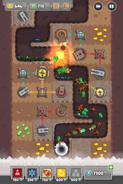 دانلود Digfender 1.4.6 بازی برج دفاعی اندروید + مود