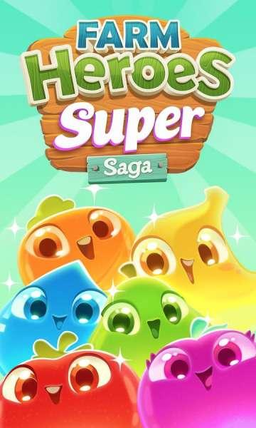 دانلود Farm Heroes Super Saga 1.51.0 بازی پازلی سوپر قهرمانان مزرعه اندروید + مود