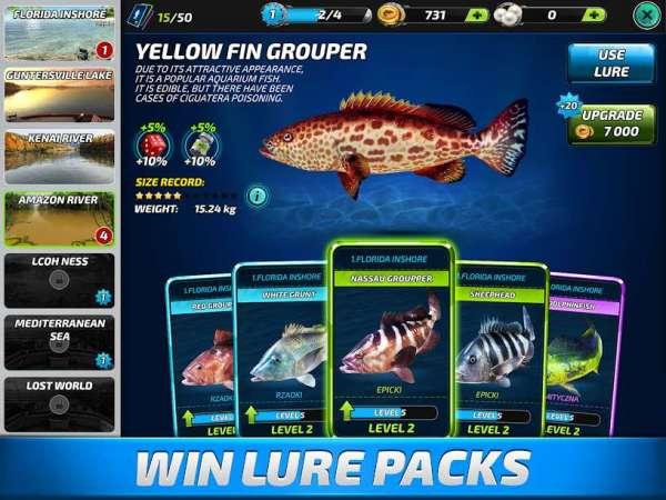 دانلود Fishing Clash: Catching Fish Game. Hunting Fish 1.0.163 بازی ماهیگیری اندروید + مود