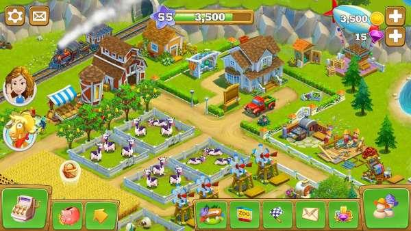 دانلود Golden Farm 1.45.09 بازی محبوب مزرعه طلایی اندروید