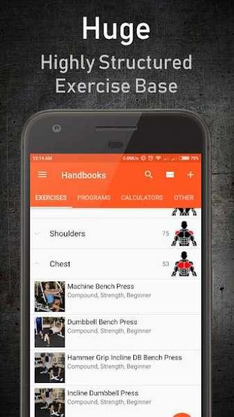 دانلود GymUp Pro workout notebook 10.42 اپلیکیشن آموزش حرفه ای بدنسازی اندروید