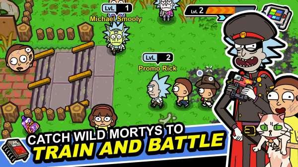 دانلود Pocket Mortys 2.24.1 بازی مورتی های پاکتی اندروید + مود