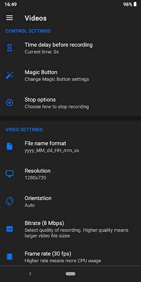 دانلود Screen Recorder – Free No Ads 1.2.4.3 برنامه فیلمبرداری از صفحه نمایش اندروید