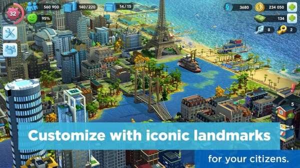 دانلود SimCity BuildIt 1.39.2.100801 بهترین بازی شهرسازی برای اندروید + مود