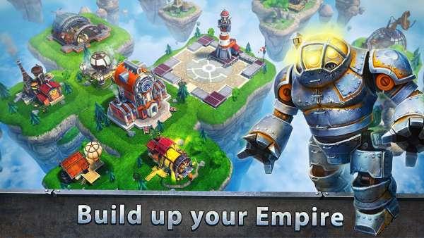 دانلود Sky Clash: Lords of Clans 3D 1.53.5320 بازی نبرد آسمانی و روسای قبایل اندروید