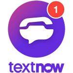 دانلود TextNow : free text + calls PREMIUM 20.12.0.1 اپلیکیشن ساختن شماره مجازی اندروید