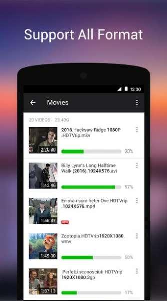 دانلود XPlayer Video Player All Format 2.1.7.3 ویدئو پلیر حرفه ای اندروید