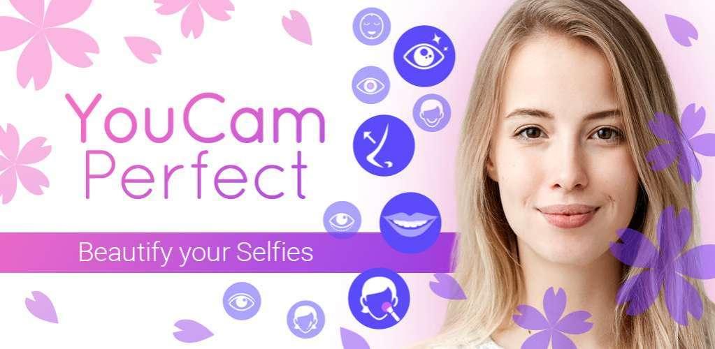 دانلود YouCam Perfect – Photo Editor & Selfie Camera App Full 5.40.2 دوربین پیشرفته با قابلیت ویرایش تصاویر اندروید