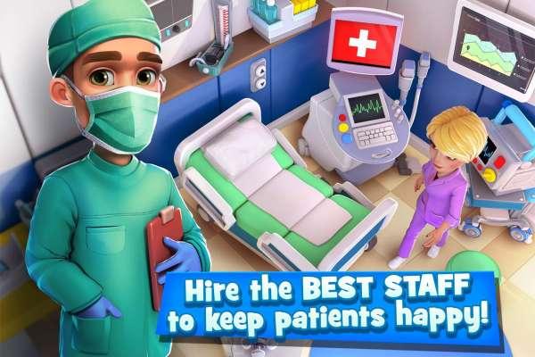 دانلود Dream Hospital – Health Care Manager Simulator 2.1.20 بازی شبیه سازی بیمارستان رویایی اندروید + مود