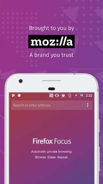 دانلود Firefox Focus Private Browser 92.1.1 مرورگر مسدود کننده تبلیغات اندروید