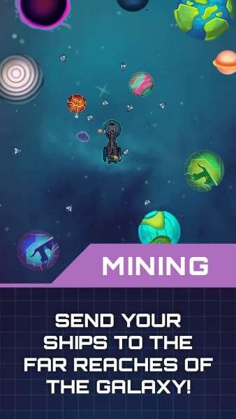 دانلود Idle Planet Miner 1.8.2 بازی زیبای معدنچی سیاره ها اندروید + مود