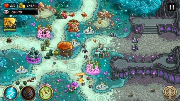 دانلود Kingdom Rush Origins 5.1.04 بازی پادشاهی راش مخصوص اندروید + مود + دیتا