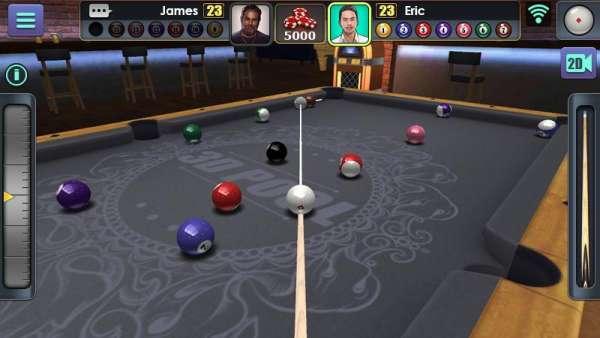 دانلود 3D Pool Ball 2.2.3.1 بازی ورزشی بیلیارد حرفه ای اندروید + مود