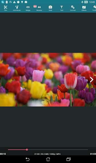 دانلود  AndroVid Pro Video Editor 3.3.7.4 اپلیکیشن ویرایش فیلم اندروید + مود + لایت