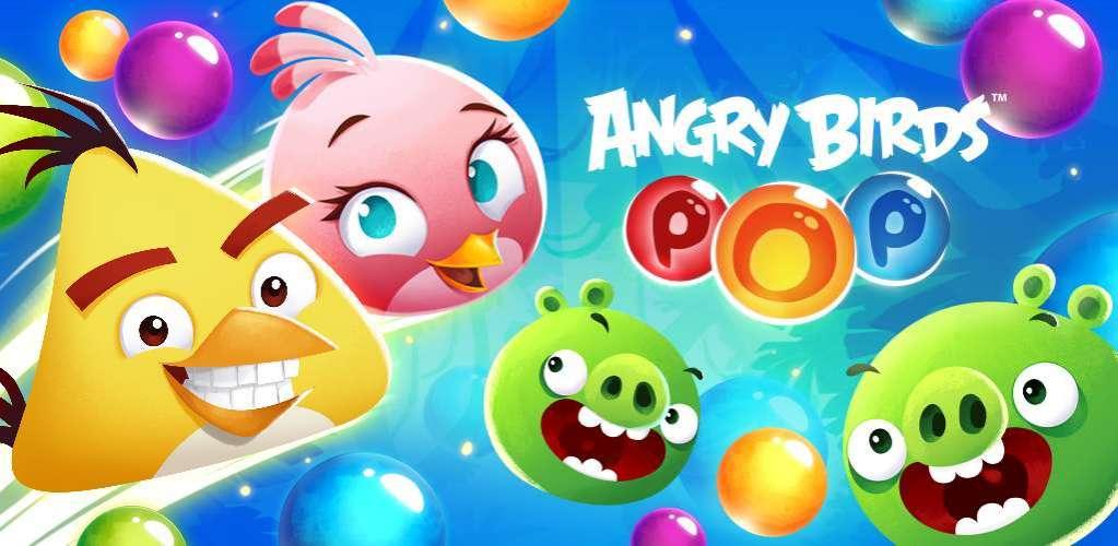 دانلود Angry Birds Stella POP 3.67.0 بازی اندروید پرندگان خشمگین + مود