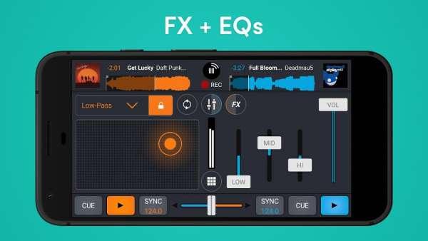 دانلود Cross DJ Pro 3.5.8 برنامه میکس موزیک در اندروید