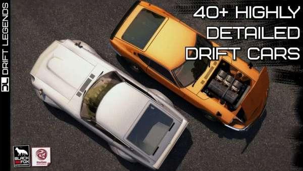 دانلود Drift Legends 1.9.11 بازی اندروید افسانه های دریفت + مود + دیتا