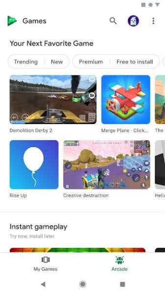 دانلود Google Play Games 2021.04.25973 اپلیکیشن گوگل پلی گیمز اندروید