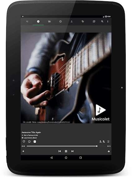 دانلود Musicolet Music Player 5.0.1 برنامه موزیک پلیر کم حجم  اندروید