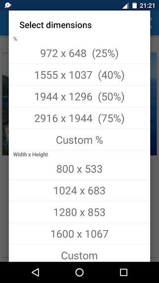 دانلود Photo & Picture Resizer 1.0.248 برنامه کاهش حجم عکس اندروید