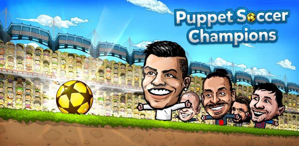 دانلود Puppet Soccer Champions – League 2.0.27 بازی لیگ قهرمانان فوتبال عروسکی اندروید + مود