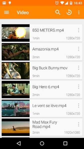 دانلود VLC for Android 3.4.0-RC.2 پلیر صوتی و تصویری وی ال سی برای اندروید