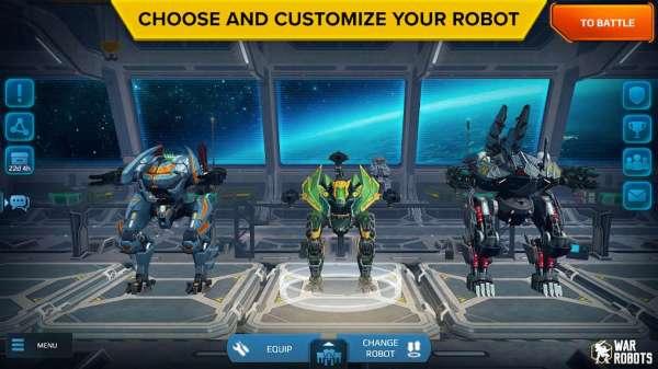 دانلود Walking War Robots 7.1.1 بازی اکشن نبرد روبات ها اندروید + دیتا