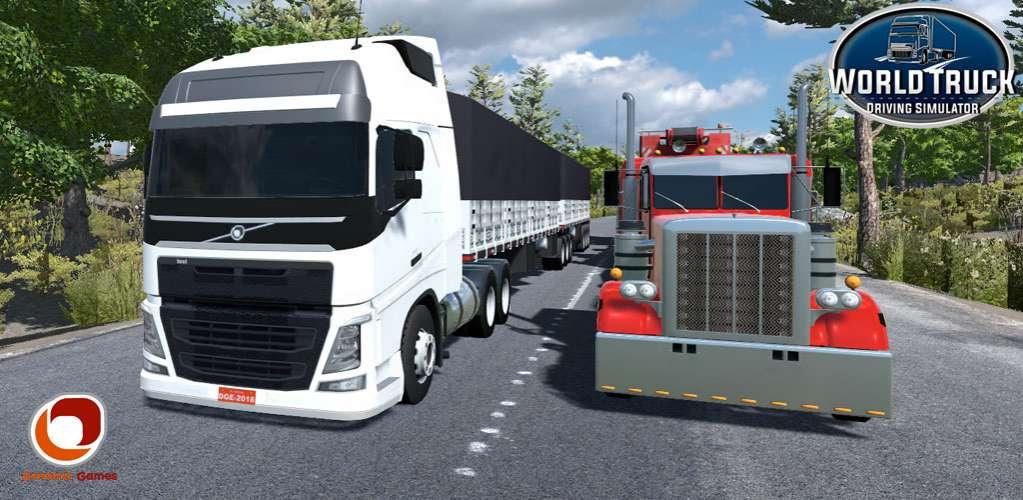 دانلود World Truck Driving Simulator 1,079 بازی شبیه سازی رانندگی کامیون در سطح جهان اندروید + مود + دیتا