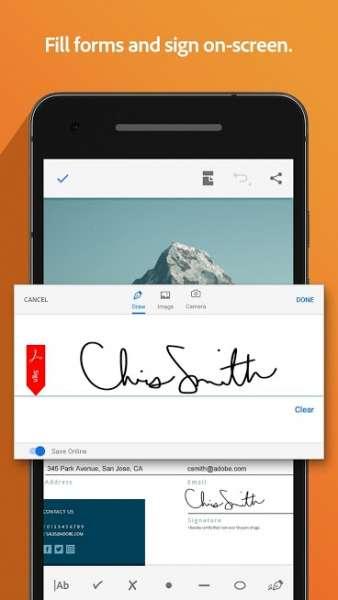 دانلود Adobe Acrobat Reader 20.9.1.15848 برنامه اندروید ادوب اکروبات