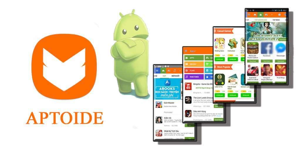 دانلود Aptoide 9.9.4.0.20190715 بهترین مارکت بروز خارجی برای اندروید