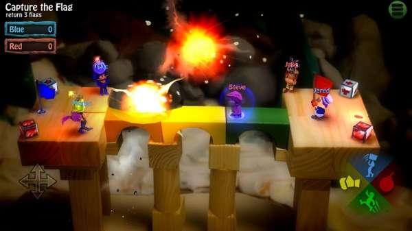 دانلود  BombSquad 1.6.3 بازی جوخه بمب اندروید + مود
