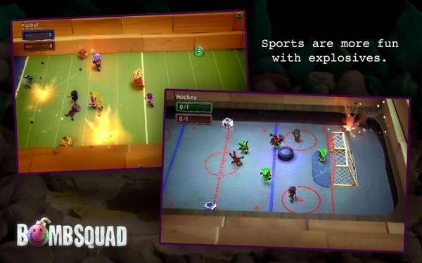 دانلود  BombSquad 1.5.28 بازی جوخه بمب اندروید + مود