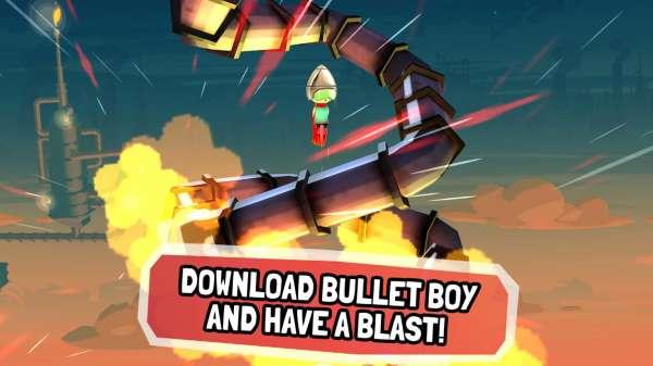 دانلود Bullet Boy 32b142 بازی اندروید دوست داشتنی پسر گلوله ای + مود