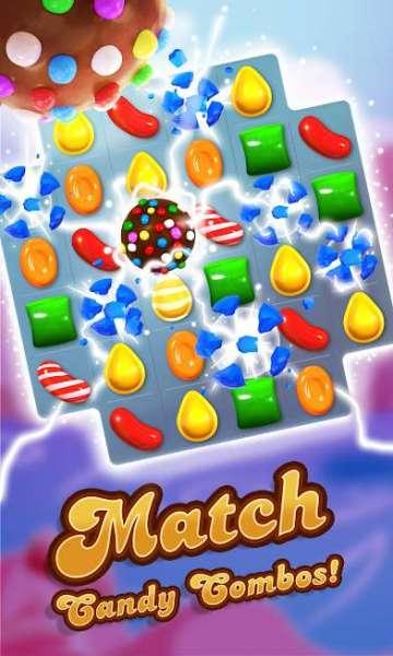 دانلود Candy Crush Saga 1.202.0.2 بازی اندروید حذف آبنبات + مود