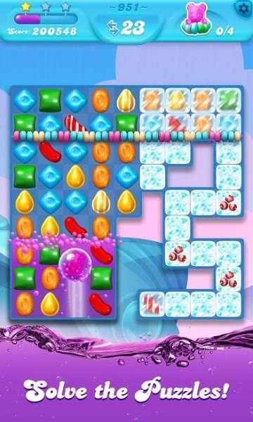 دانلود Candy Crush Soda Saga 1.192.3 بازی اندروید برخورد آبنبات سودا + مود