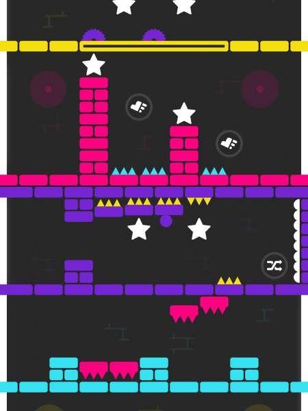 دانلود Color Switch 1.91 بازی عوض کردن رنگ اندروید + مود