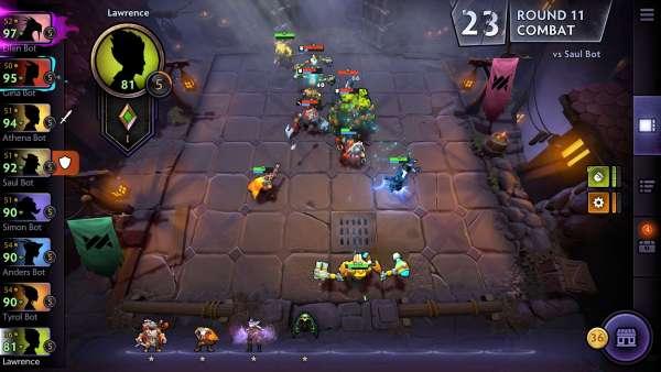 دانلود Dota Underlords 1.0b2000528 بازی اندروید استراتژی فرماندهای دوتا