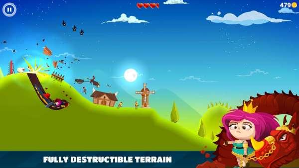 دانلود Dragon Hills 1.4.2b32 بازی اندروید بسیار زیبای تپه اژدها + مود