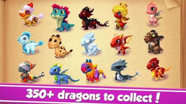 دانلود Dragon Mania Legends 6.2.0k بازی اندروید عاشق افسانه های اژدها