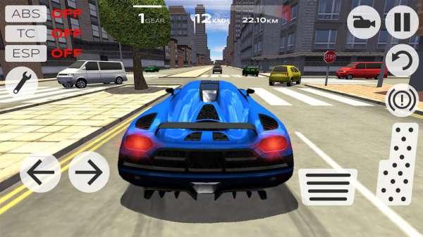دانلود Extreme Car Driving Simulator 5.2.7 بازی اندروید شبیه ساز فوق العاده رانندگی + مود