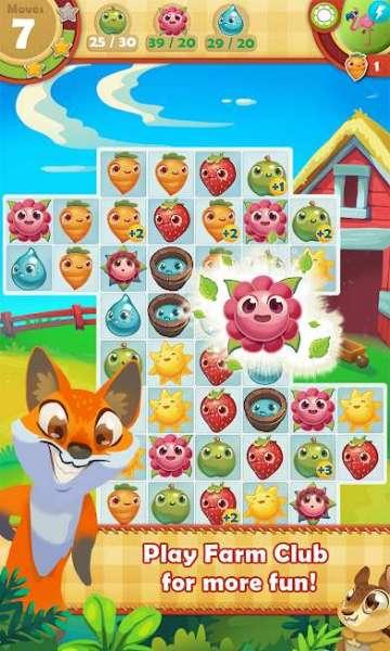 دانلود Farm Heroes Saga 5.58.8 بازی اندروید قهرمانان مزرعه + مود