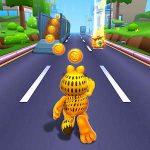 دانلود Garfield™ Rush 4.9.8 بازی اندروید بسیار زیبای گارفیلد دونده + مود