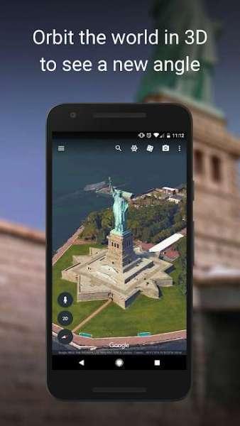 دانلود Google Earth 9.143.0.2 برنامه اندروید گوگل ارث
